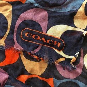 Coach Monogram stole/scarf